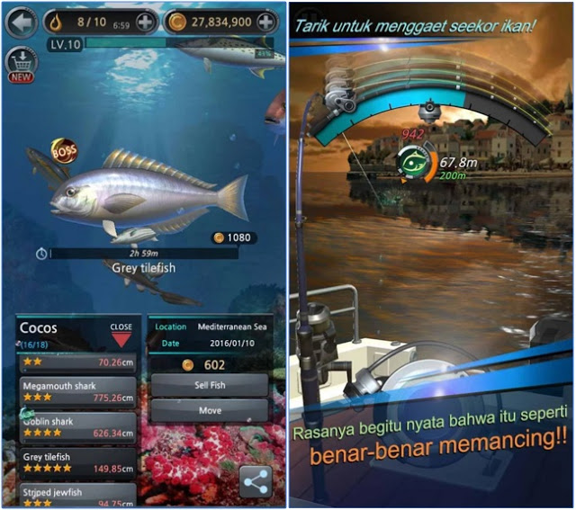 Download Kail Pancing v1.3.0 Mod Apk Latest Update