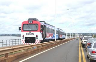 Realizan pruebas para circular con más coches en el tren Posadas-Encarnación
