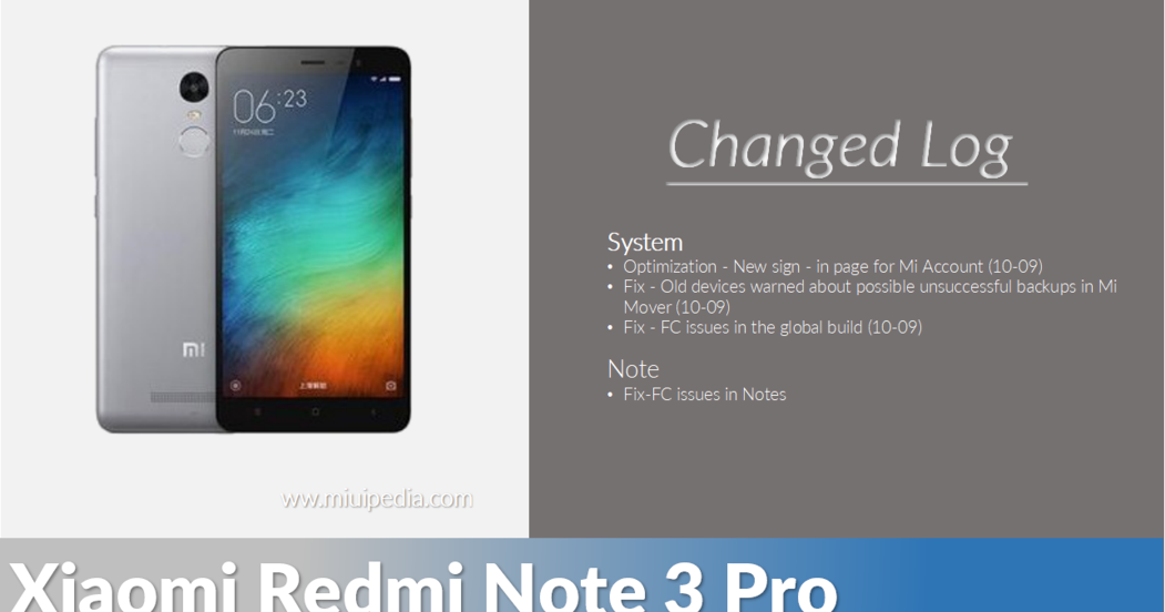 Download Mi 5 Mi 5s Mi Note 2 And Redmi Note 4 Stock: Download ROM MIUI 8.5.7.0 + Fix 4G Global Stable Untuk