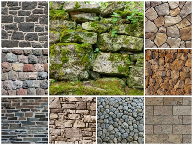 Apuntes revista digital de arquitectura arquitexturas - Muro de piedra natural ...