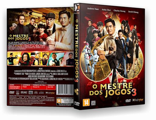 DVD-R O Mestre Dos Jogos 3 2017 – OFICIAL