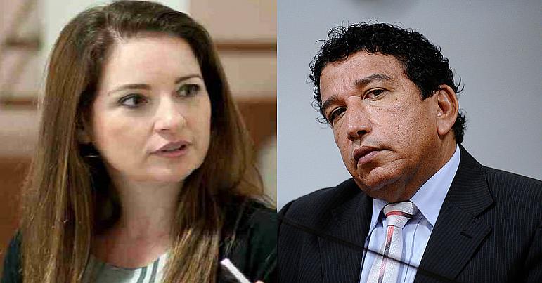 Magno Malta desmente informação sobre divórcio e ex marido de Lauriete