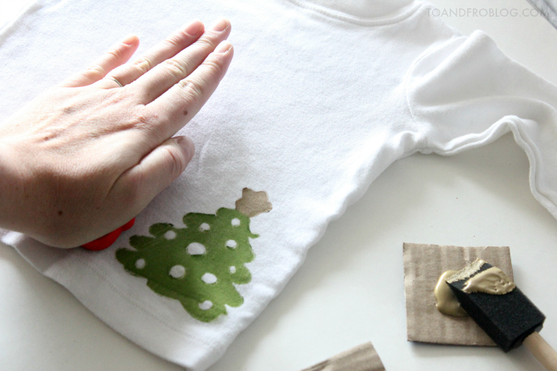 Baby Ugly Christmas Sweater DIY