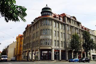 Kaufhaus Held 2018 nach der Sanierung an der Merseburger Strasse