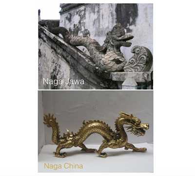 Naga China vs Naga Jawa