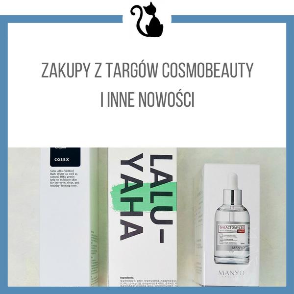 Zakupy z targów Cosmobeauty Seoul 2018 i inne nowości