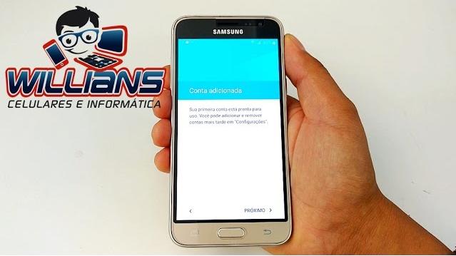 Desbloqueio de Conta Google Samsung Galaxy J3 2016 SM-J320, J320M e outros