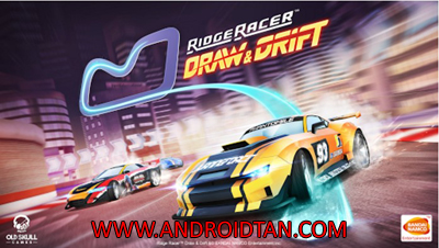 Download Ridge Racer Draw And Drift Mod Apk + Data v1.0.5 Unlimited Money Terbaru 2017