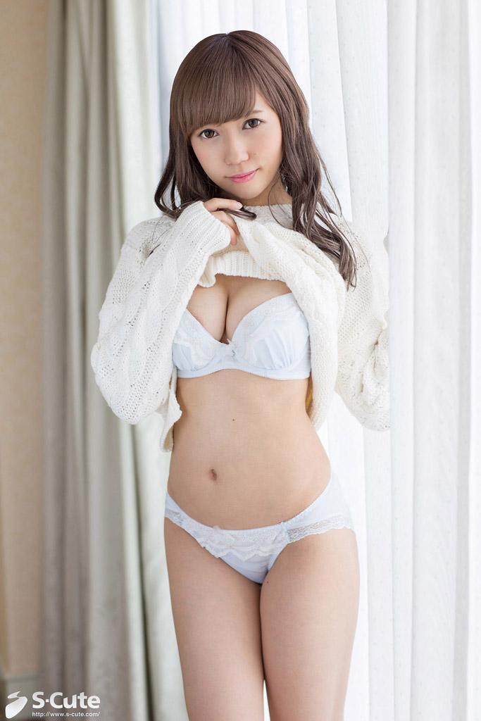 CENSORED S-Cute 492 Reina #1 エロカワ美女の何度もイケちゃうラブラブH, AV Censored