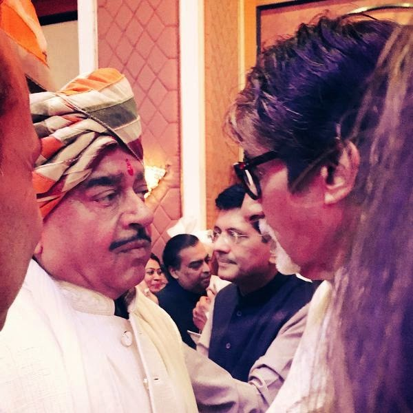 Amitabh Bachchan, Kush Sinha's grand wedding Pics