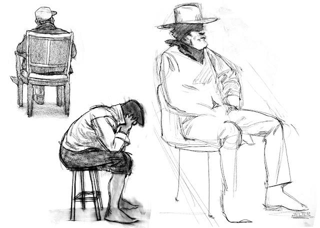 Ben Jelter Art: Even more clothed figure stuff