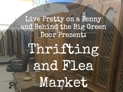 Thrifting and Flea Market Makeover Party