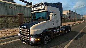 Black & White Scania T skin