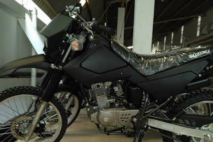 Suzuki Trail DR200S Black Fire Masuk Ke Indonesia
