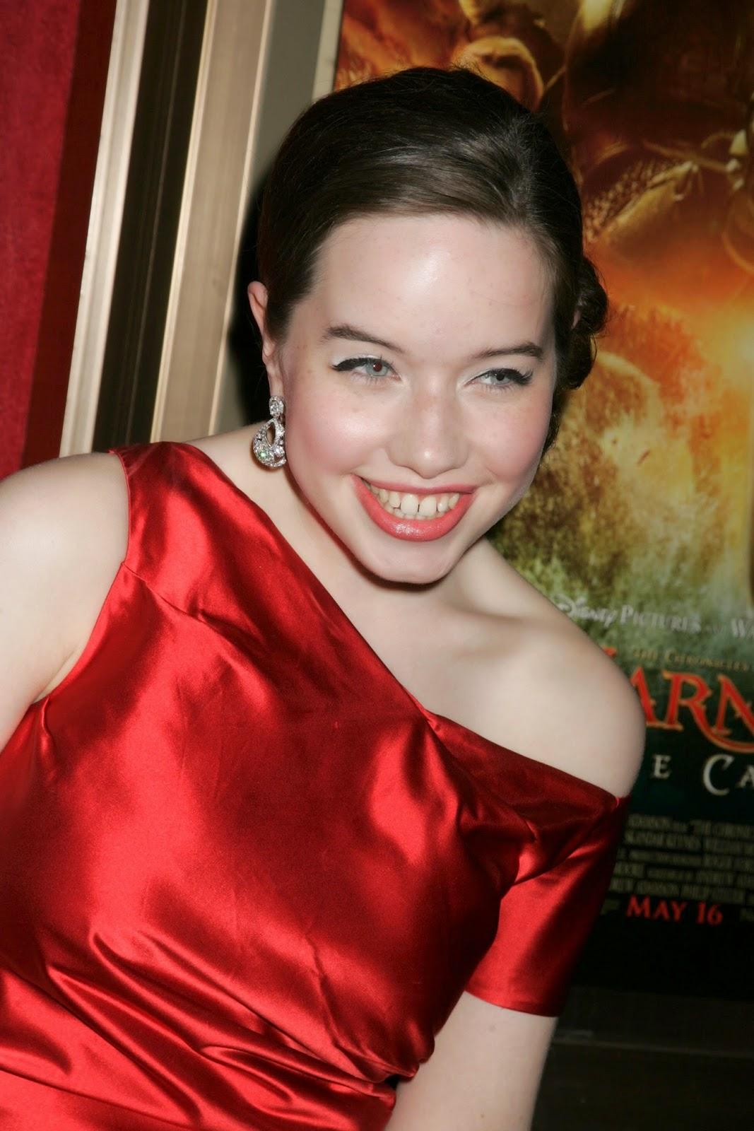 World Hot Actress: Anna Popplewell English film
