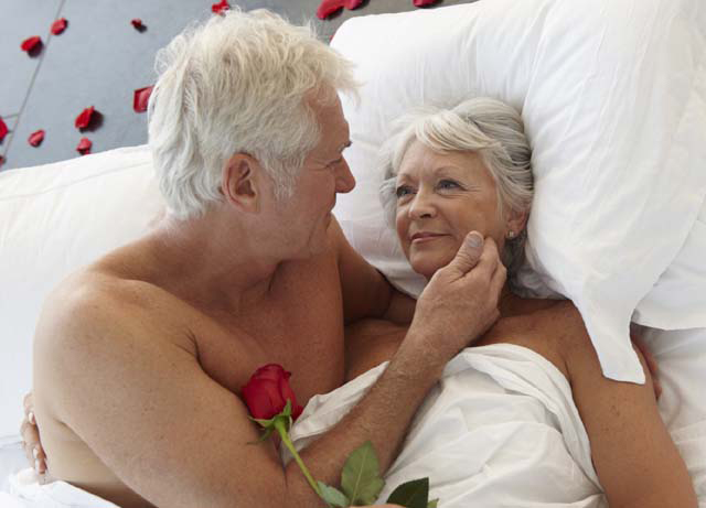 Пожилая секс
