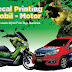 cetak sticker mobil-motor kualitas superhigh resolution