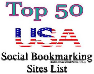 Top 50 USA Social Bookmarking Sites List | Online Backlink