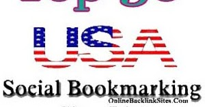 Top 50 USA Social Bookmarking Sites List | Online Backlink Sites