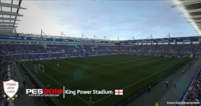 PES 2019 King Power Stadium Converted from FIFA 16 by Arthur Torres