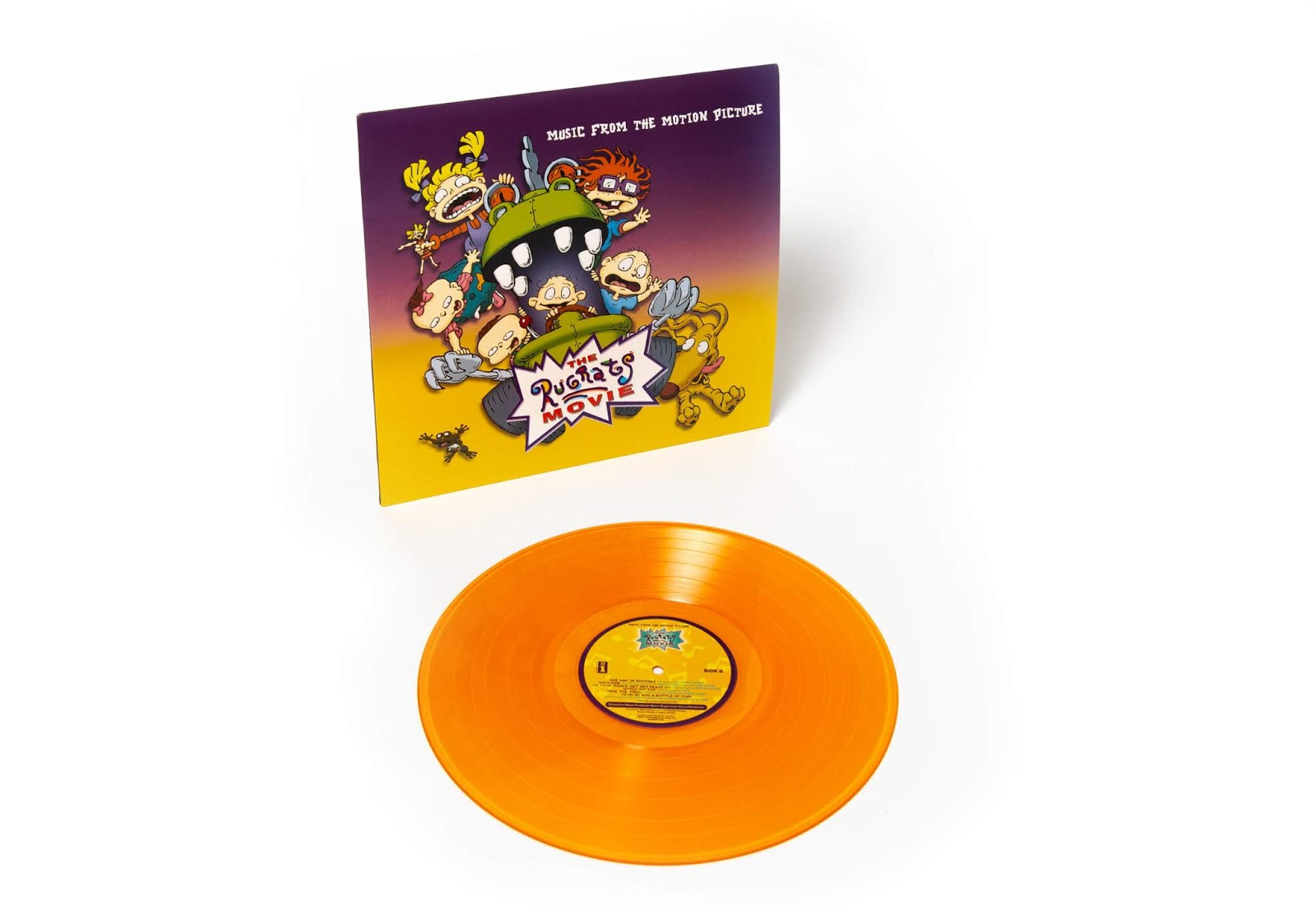 NickALive!: Soundtrack to \'The Rugrats Movie\' to Make Vinyl Debut in ...