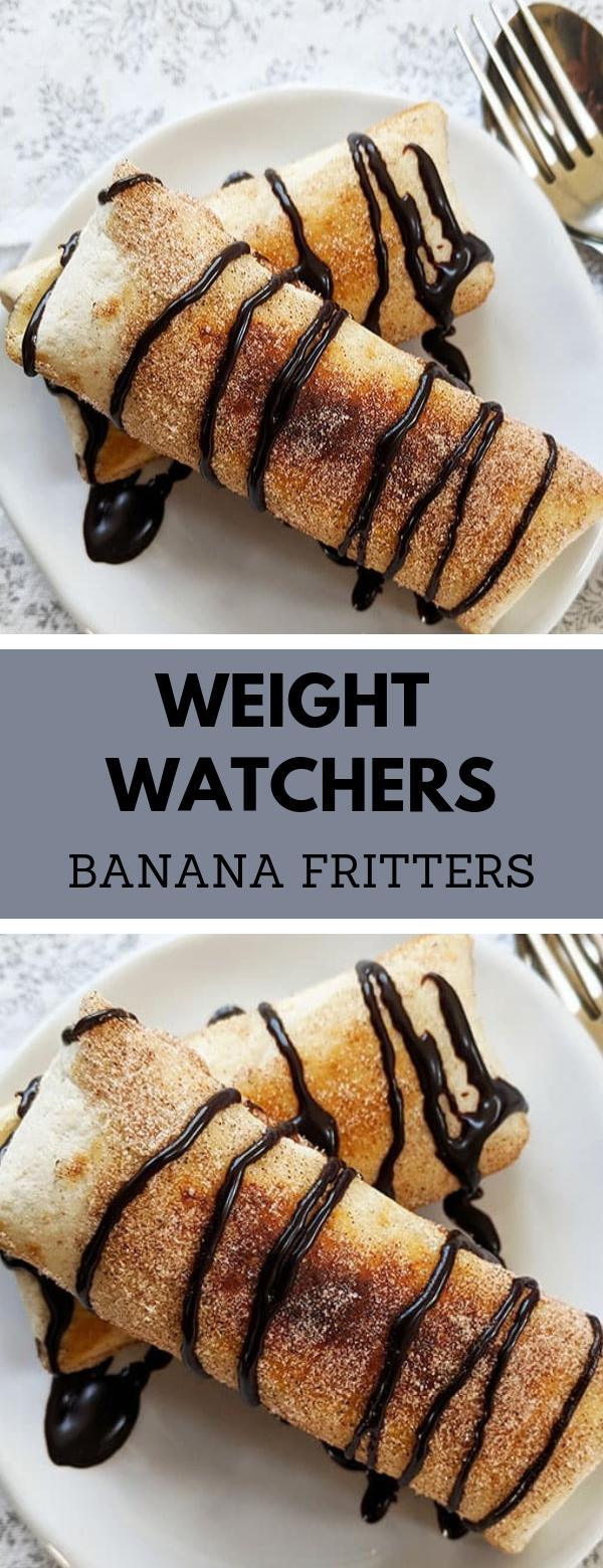 WEIGHT WATCHERS BANANA FRITTERS #BANANAFRITTER #DESSERT #WEIGHTWATCHERS