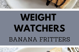 WEIGHT WATCHERS BANANA FRITTERS