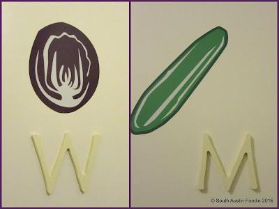 Vinaigrette Austin  --restroom signage