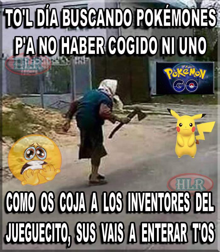 Resultado de imagen de pokemon go chiste