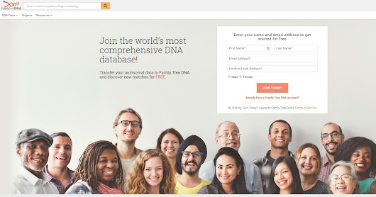 Family Tree DNA Now Accepts Data Transfers from Select 23andme and AncestryDNA Files