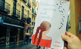 Libro: Historias escritas en el viento de Elena Cardenal