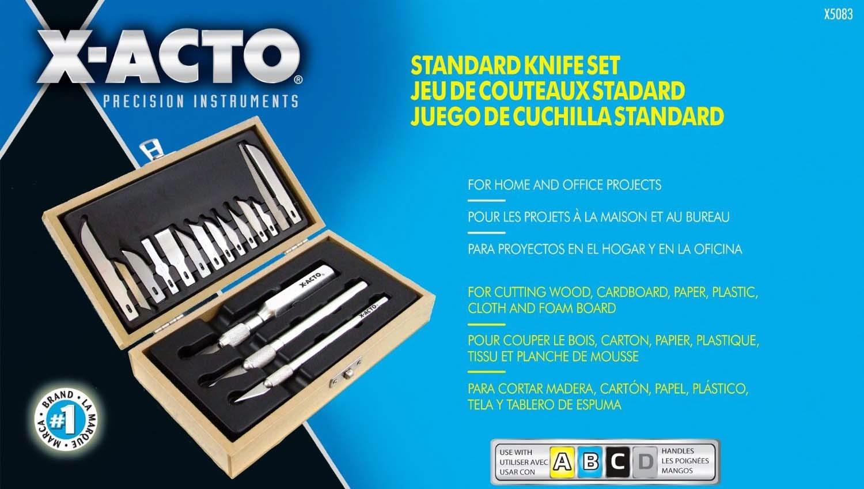 Arts Crafts Set X Acto X Standard Knife Set