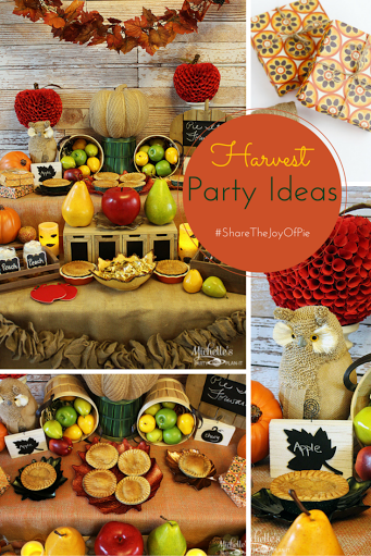 Linky Party Thanksgiving Theme
