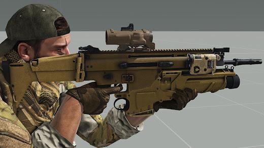 Arma3用CMCSSC Mk17アドオン