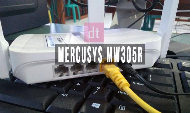 Cara Setting Wifi Mercusys MW305R Sebagai AP Router