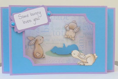 Some bunny loves you by Elizabeth features Bitty Bunnies by Newton's Nook Designs; #newtonsnook