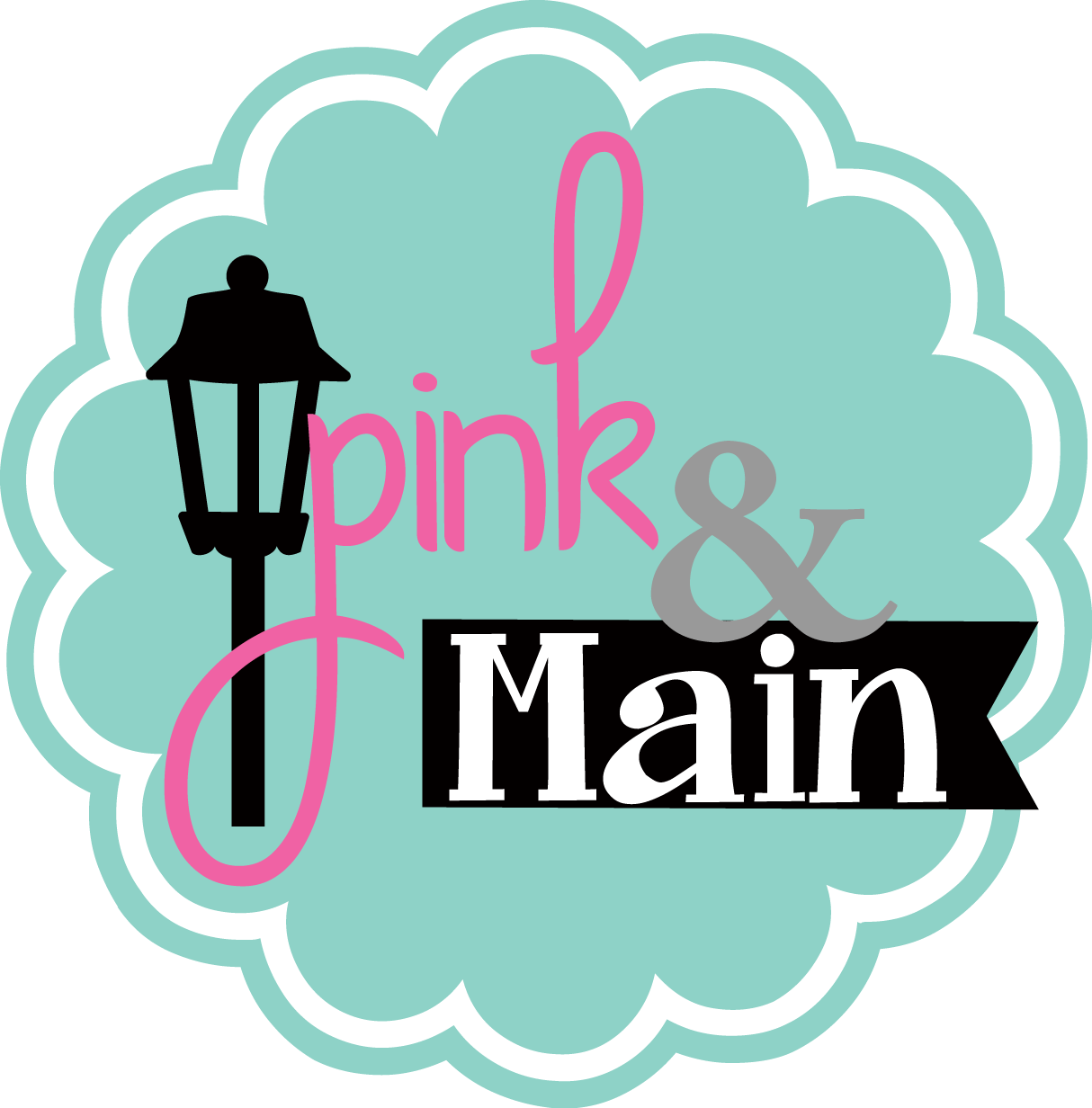 Shop Pink and Main Stamps