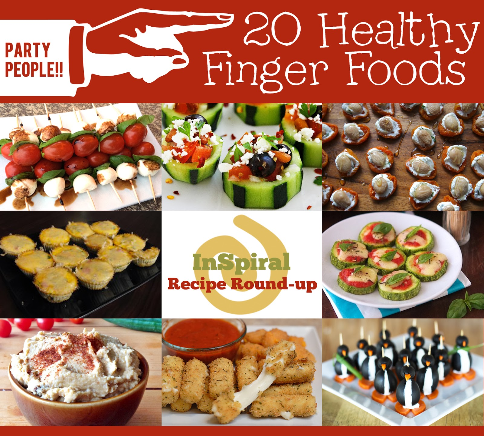Super Easy Finger Foods For Office Party
