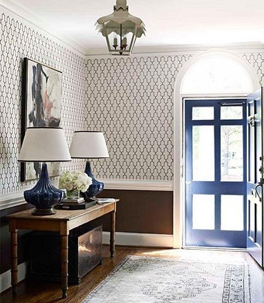 Vintage Foyer Wallpaper : Inspiracje w moim mieszkaniu tapeta przedpokoju