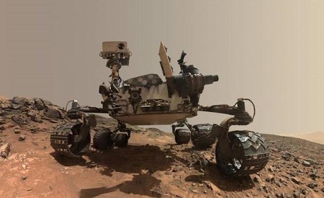 Robô Curiosity da Nasa encontra material orgânico em Marte que pode sugerir vida passada (Imagem: Reprodução/Nasa)