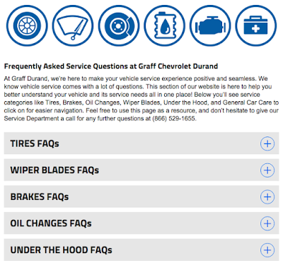 Service FAQs at Graff Chevrolet in Durand, MI