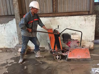 Khoan cắt bê tông tại huyện Mỹ Tú