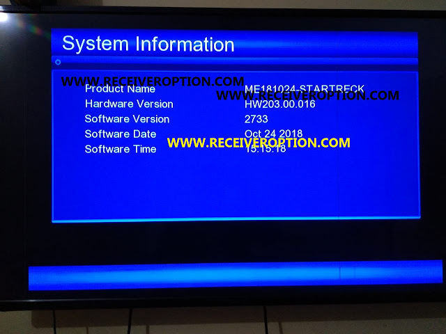 STAR TRACT MAGIC 007 HD RECEIVER AUTO ROLL POWERVU KEY NEW SOFTWARE