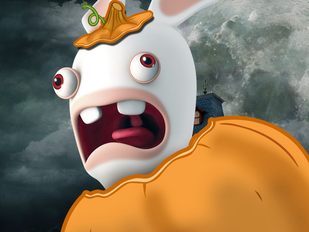 nicktoons uk to premiere brand new rabbids invasion halloween special on monday 27th october 2014 - Raving Rabbids Halloween Costume