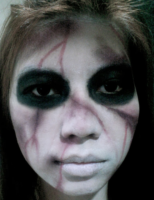 kuntilanak, indonesian ghost, halloween, hallowen makeup