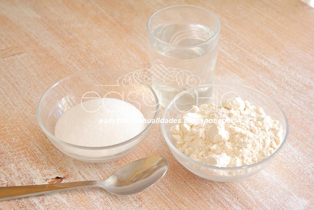 Easychic como hacer pasta de sal para modelado arcilla o - Pasta para modelar manualidades ...