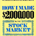 "Three Trading Lessons From ""How I Made $2,000,000 from the Stock Market"" by Nicolas Darvas"
