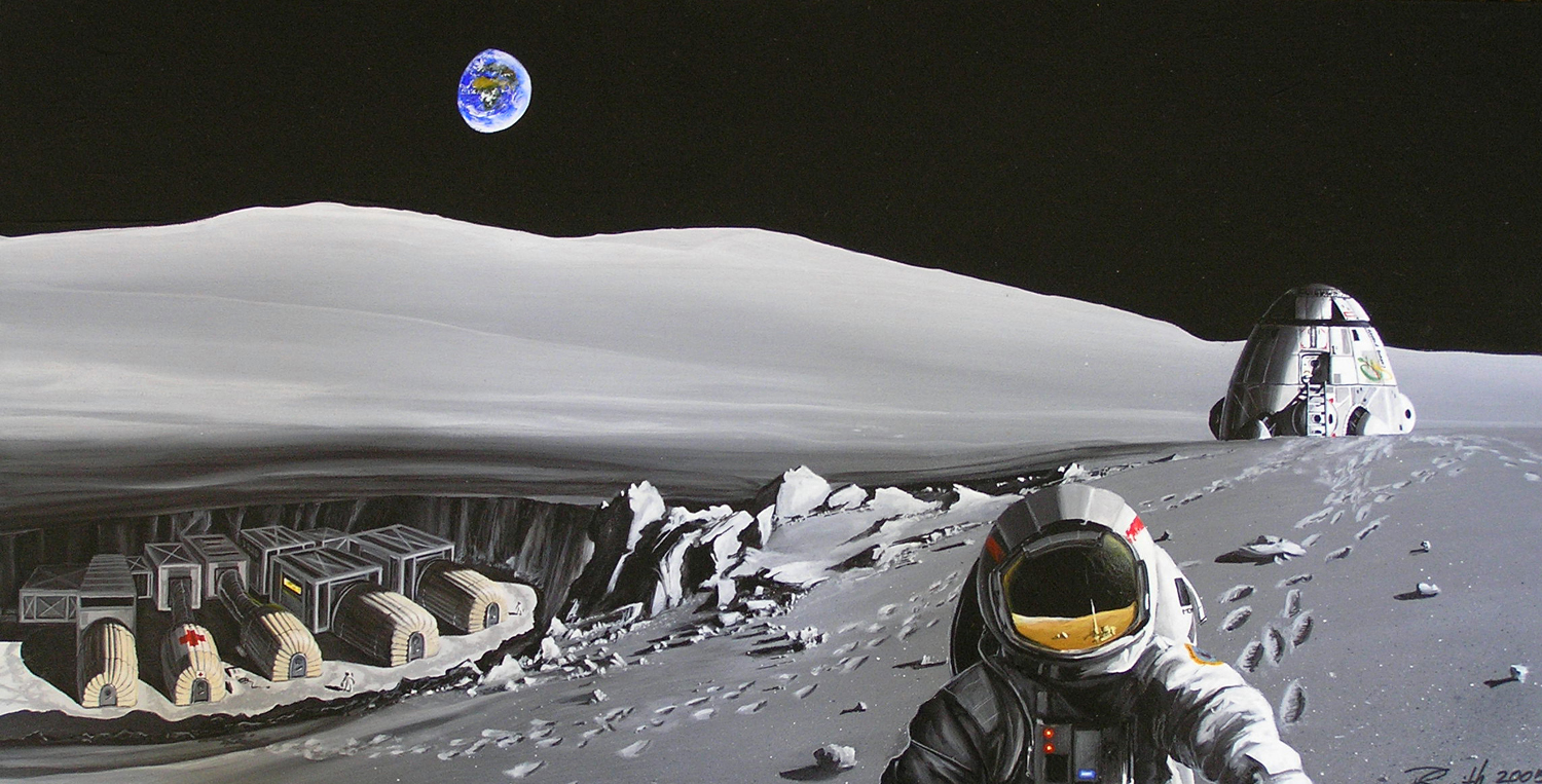 Russia Takes Lead to Create Manned Moon Base with USA & Europe