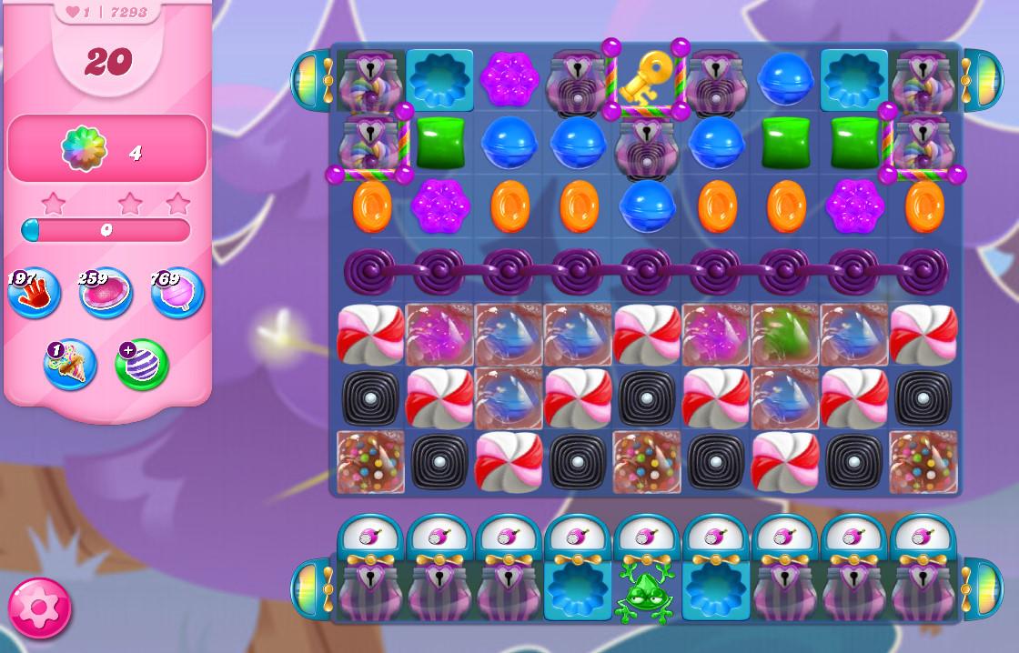 Candy Crush Saga level 7293