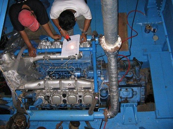 Pedoman Pemeliharaan Bagian Mesin Kapal